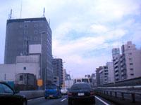 9月19日搬入の日の高速渋滞