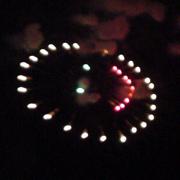 スマイルの花火 Photo by うちのダンナさん