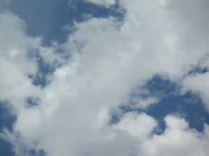 日曜日の空の写真
