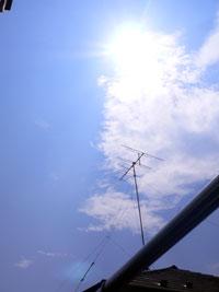 8月21日の空