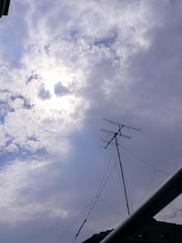 8月22日の空