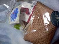 クリスマス柄のナプキンとベビーシュガー