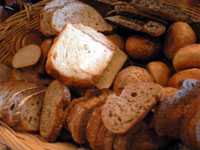 食べ放題のパン