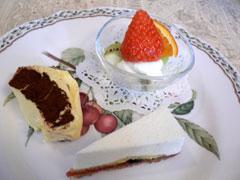 デザート・レアチーズケーキ