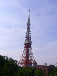 オススメポイントからの東京タワー